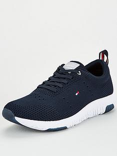 tommy-hilfiger-corporate-knit-modern-runner-trainers-desert-sky-navy
