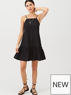 v-by-very-dropped-hem-linen-mix-dress-black