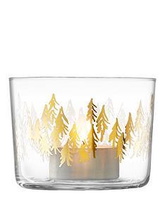 lsa-international-fir-metallic-handmade-tealight-holders-ndash-set-of-2