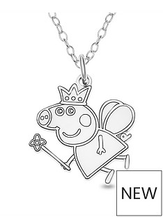 peppa-pig-sterling-silver-peppa-pig-childrens-peppa-fairy-pendant-necklace-in-gift-box
