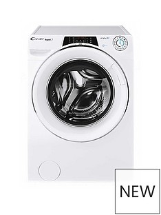 Candy ROW14956DWHC 9kg, 1400 Spin Washer Dryer- White/Chrome Door