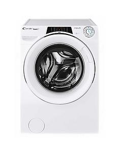 Candy ROW14956DWHC Rapido 9kg, 1400 Spin Washer Dryer- White/Chrome Door