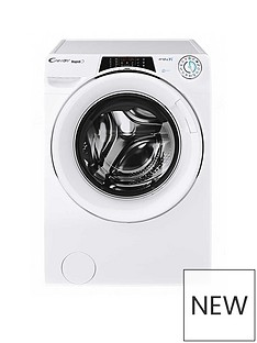 Candy ROW141066DWHC 10kg, 1400 Spin Washer Dryer- White/Chrome Door