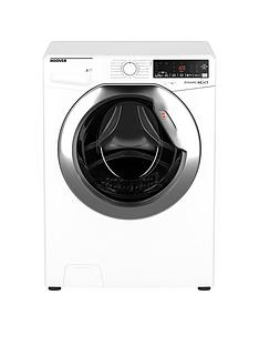 Hoover DWOA411AHC8/1-80 11kg Load, 1400 Spin Washing Machine - White/Chrome Door