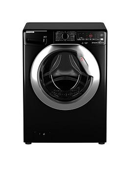 Hoover Dwoa411Ahc8B-80 11Kg Load, 1400 Spin Washing Machine - Black/Chrome Door