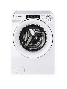 Candy Ro16106Dwhc7 Rapido 10Kg Load, 1600 Spin Washing Machine - White