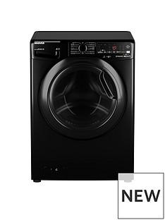 Hoover DWOAD69AHF7B-80 9kg, 1600 Spin Washing Machine- Black/Tinted Door