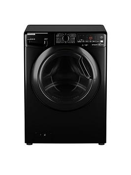 Hoover Dwoad69Ahf7B-80 9Kg Load, 1600 Spin Washing Machine - Black/Tinted Door
