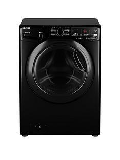 Hoover DWOAD610AHF7B-80 10kg, 1600 Spin Washing Machine- Black/Tinted Door