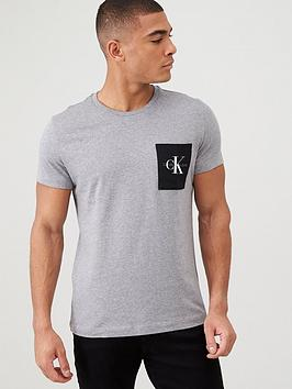 calvin-klein-jeans-monogram-pocket-slim-t-shirt-mid-grey-heather