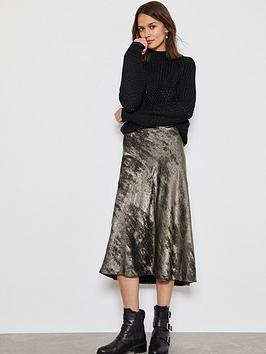 mint-velvet-shimmer-slip-skirt-pewter