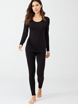charnos-second-skin-long-sleeve-top-black