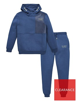 v-by-very-boys-woven-pocket-detail-tracksuit-blue