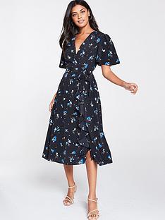 v-by-very-vienna-wrap-frill-midi-dress-blue-floral