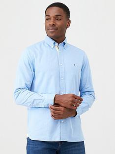 tommy-hilfiger-th-flex-dobby-shirt-pale-blue