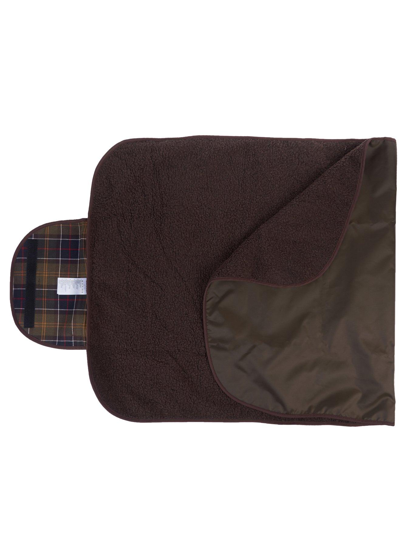 barbour dog blanket large