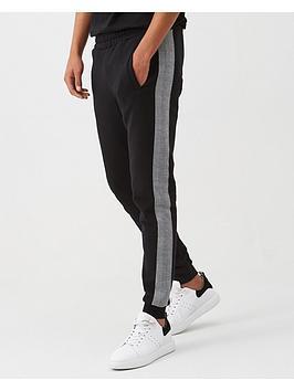 v-by-very-checked-side-stripe-jogger-black