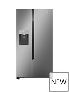 Hisense Non Plumbed. Total No Frost American Fridge Freezer SSL with Water & Ice Dispenser