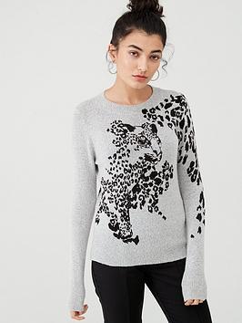 oasis-peeking-cat-jacquard-jumper-dark-grey