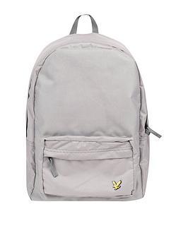 lyle-scott-classic-backpack-grey