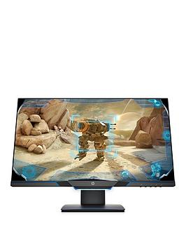 hp-245in-fhd-144hz-1ms-freesync-g-sync-compatible-gaming-monitor-blackneon-blue