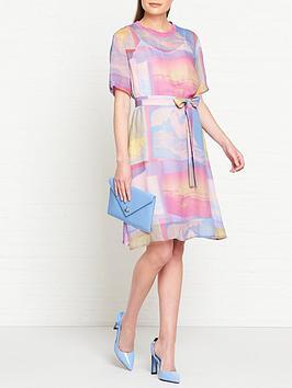 ps-paul-smith-surf-print-t-shirt-dress-pink
