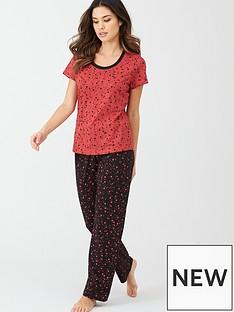 v-by-very-spot-star-short-sleeve-standard-trouser
