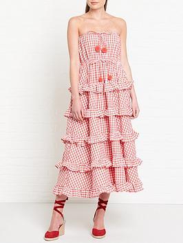 sundress-jasmin-gingham-coral-dress-pink