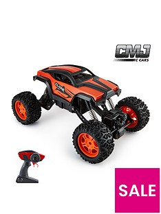 112-scale-remote-controlnbspmonster-truck-car-adjustable-chassis-orange