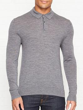 aquascutum-kennington-knitted-long-sleeve-polo-shirt-grey