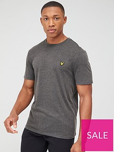 lyle-scott-fitness-martin-short-sleeved-t-shirt-charcoal