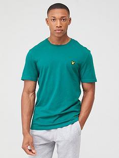 lyle-scott-fitness-martin-short-sleeved-t-shirt-green