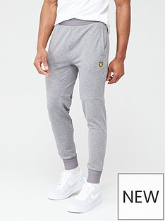 lyle-scott-fitness-superwick-track-pants-mid-grey-marl
