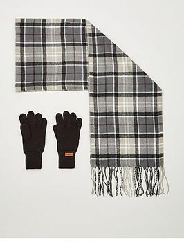 barbour-scarf-and-knitted-glove-set