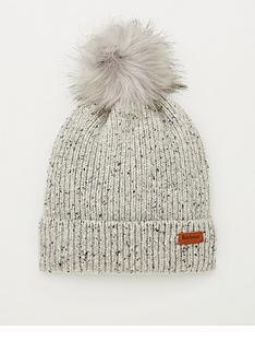 barbour-weymouth-pom-beanie-hat