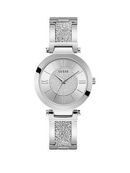 guess-guess-aurora-silver-glitter-dial-stainless-steel-and-glitz-bracelet-ladies-watch