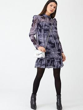 v-by-very-pleated-swing-dress-print