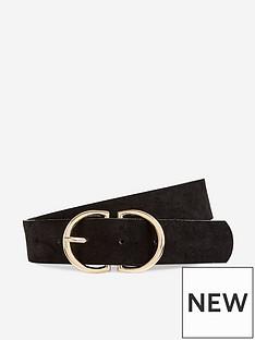 dorothy-perkins-dorothy-perkins-two-part-buckle-belt-black