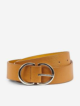 dorothy-perkins-dorothy-perkins-two-part-buckle-belt-yellow