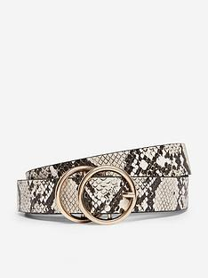 dorothy-perkins-dorothy-perkins-snake-double-circle-belt-natural