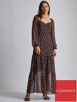 dorothy-perkins-dorothy-perkins-tiered-maxi-dress-black