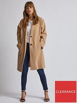 dorothy-perkins-dorothy-perkins-relaxed-masculine-coat-camel
