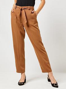 dorothy-perkins-dorothy-perkins-tie-belt-trousers-camel