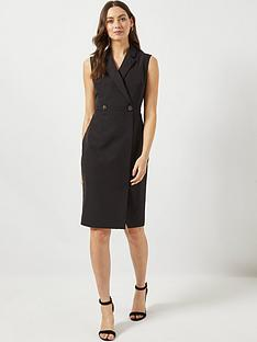 dorothy-perkins-dorothy-perkins-tux-dress-black