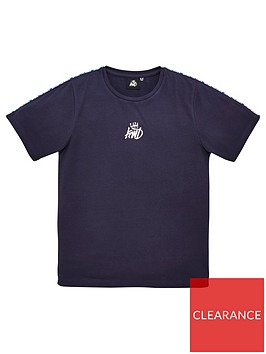 kings-will-dream-boys-mickleton-short-sleeve-t-shirt-navy