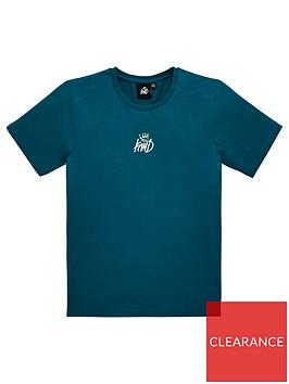 kings-will-dream-boys-fermel-short-sleeve-t-shirt-teal