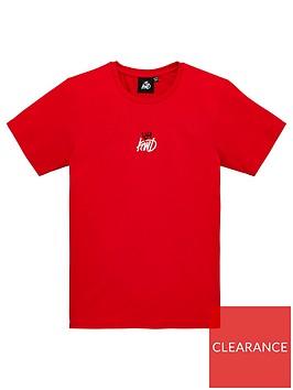 kings-will-dream-boys-fermel-short-sleeve-t-shirt-red