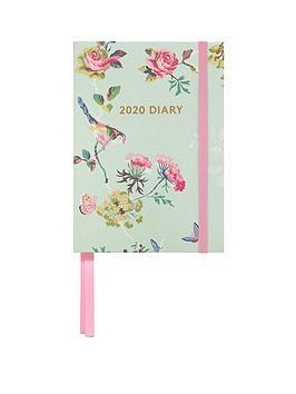 cath-kidston-birds-roses-a6-2020-diary