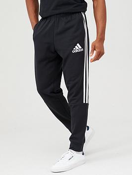 adidas-3-stripe-panel-pants-blackwhite