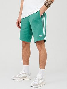 adidas-originals-3-stripe-shorts-greennbsp